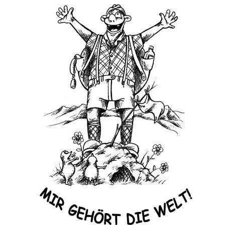 """T-Shirt """"Mir gehört die Welt!"""""""
