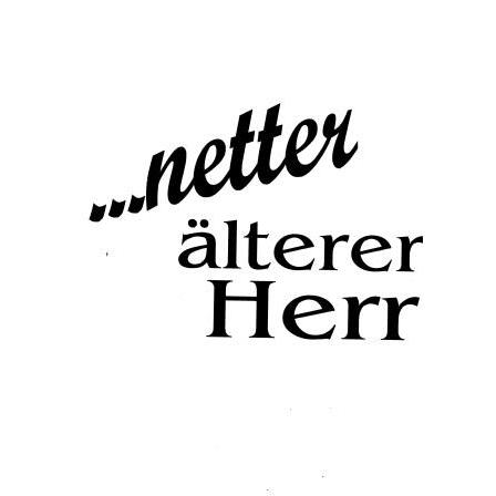 """T-Shirt """"netter älterer Herr…"""""""