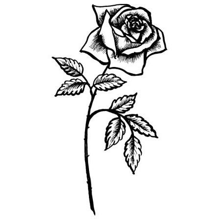 "T-Shirt ""Rose"""